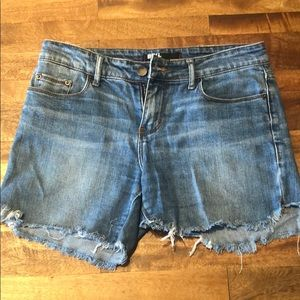 BDG from Urban Outfitter Light was denim shorts!